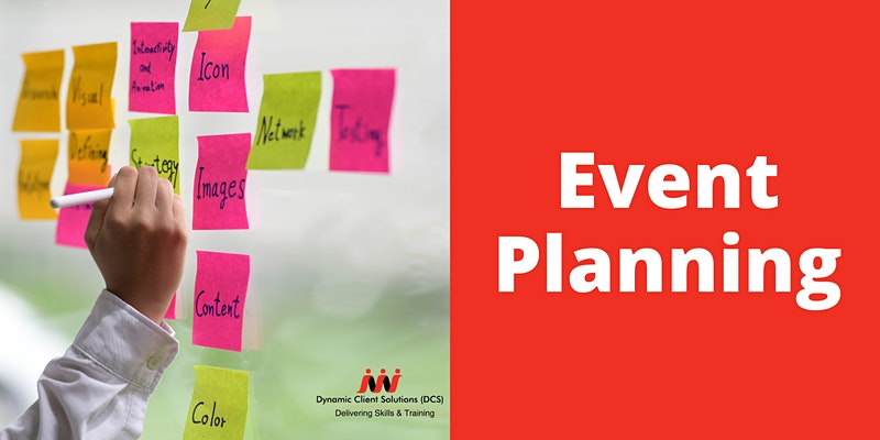 DCS Training - Certificate in Event Planning (Online)