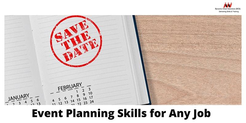 DCS Training - Event Planning Skills for any Job