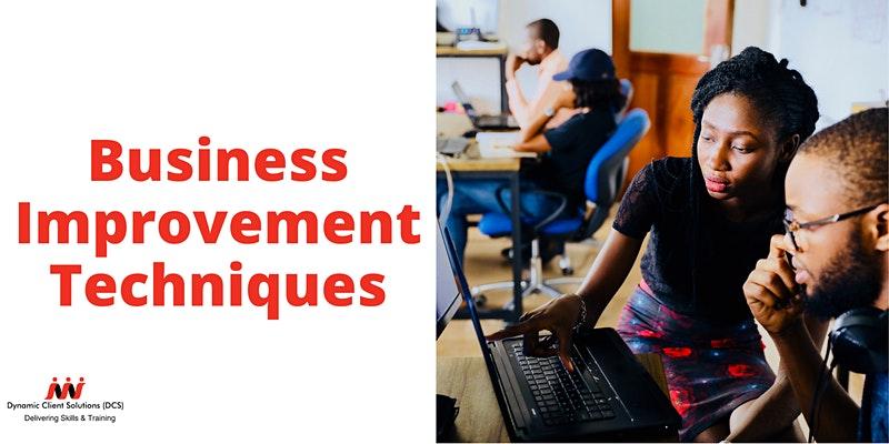 DCS Training - L2 Certificate in Business Improvement Techniques