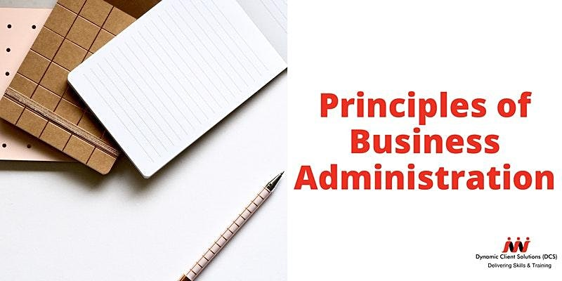 DCS Training - Level 2 Certificate Principles of Business Administration