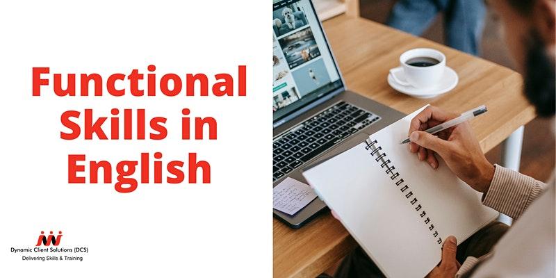 DCS Training- NCFE Level Entry1- Level 1 Functional Skills English