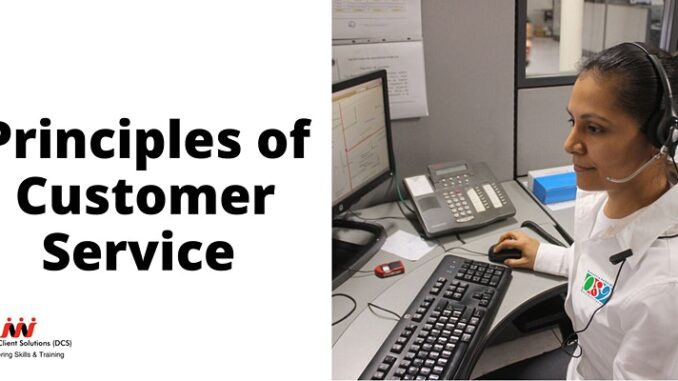 DCS Training- NCFE Level 2 Certificate in the Principles of Customer Service
